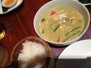 Busabi Eathai Thai Green Curry