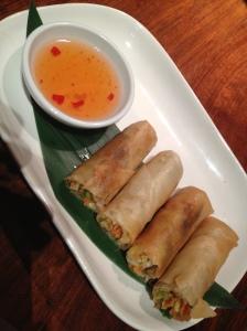 Busabi Eathai Vegetable Spring Rolls