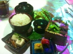 Inamo Vegetarian Bento Box