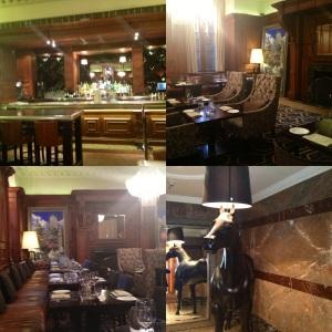 Inside the twotwentytwo restaurant
