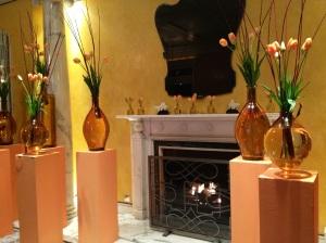 Berkeley Hotel Fireplace