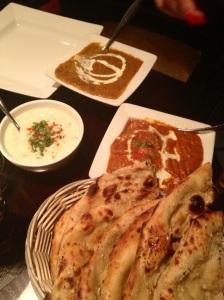 Daal Makhni, Butter Chicken & Naan