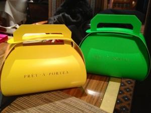 Pret-a-Portea take away Bags
