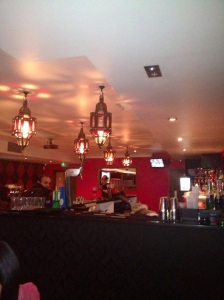Inside Red Turban