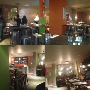 Inside Assaggetti Restaurant