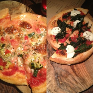 Vegetarian and Spinach and Ricotta Pizzettine's