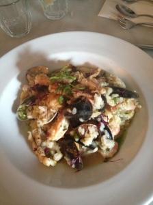 Squid & Shellfish Risotto