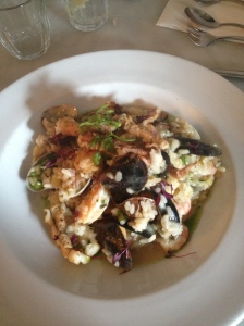 Squid & Shellfish Risotto