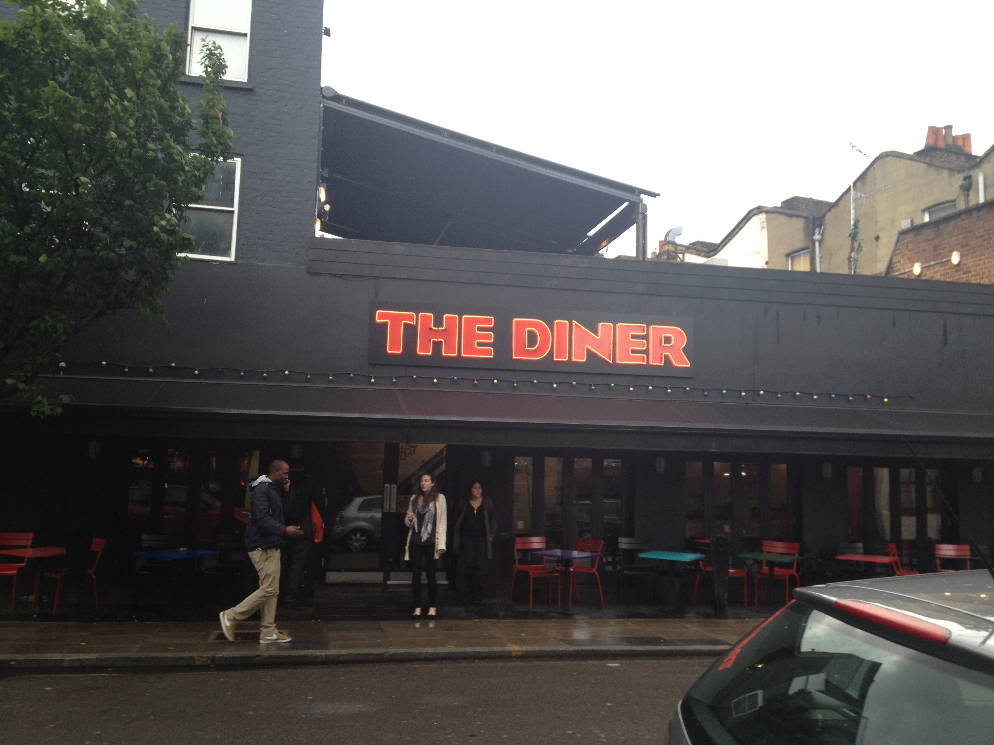 The diner review camden deeliciously for The camden