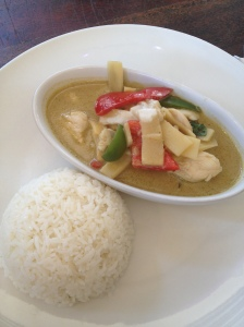 Chicken Green Thai Curry