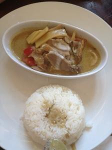 Duck Thai Green Curry