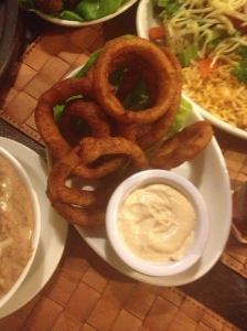 Hot Spicy Onion Rings