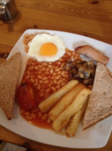 Vegetarian Full English