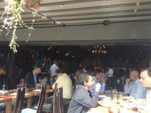 Inside EV Restaurant