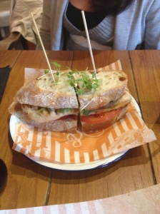 Chargrilled Chicken Club Sandwich
