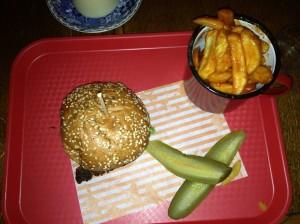 Maryland Buttermilk Chicken Burger
