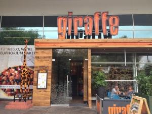 Giraffe Restaurant Watford