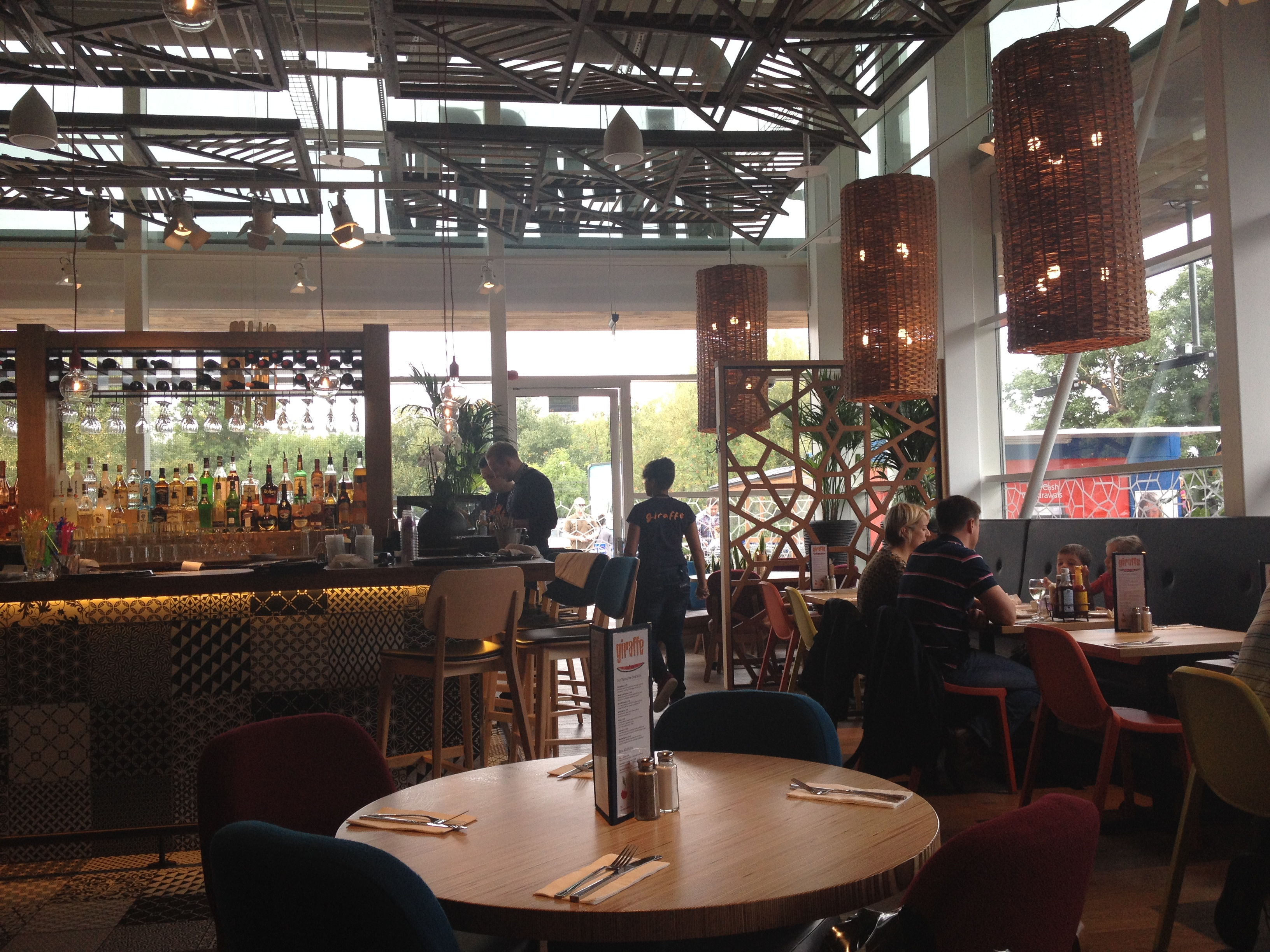 Giraffe restaurant review watford deeliciously