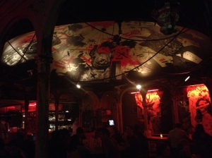 Meat Liquor Arty Ceiling