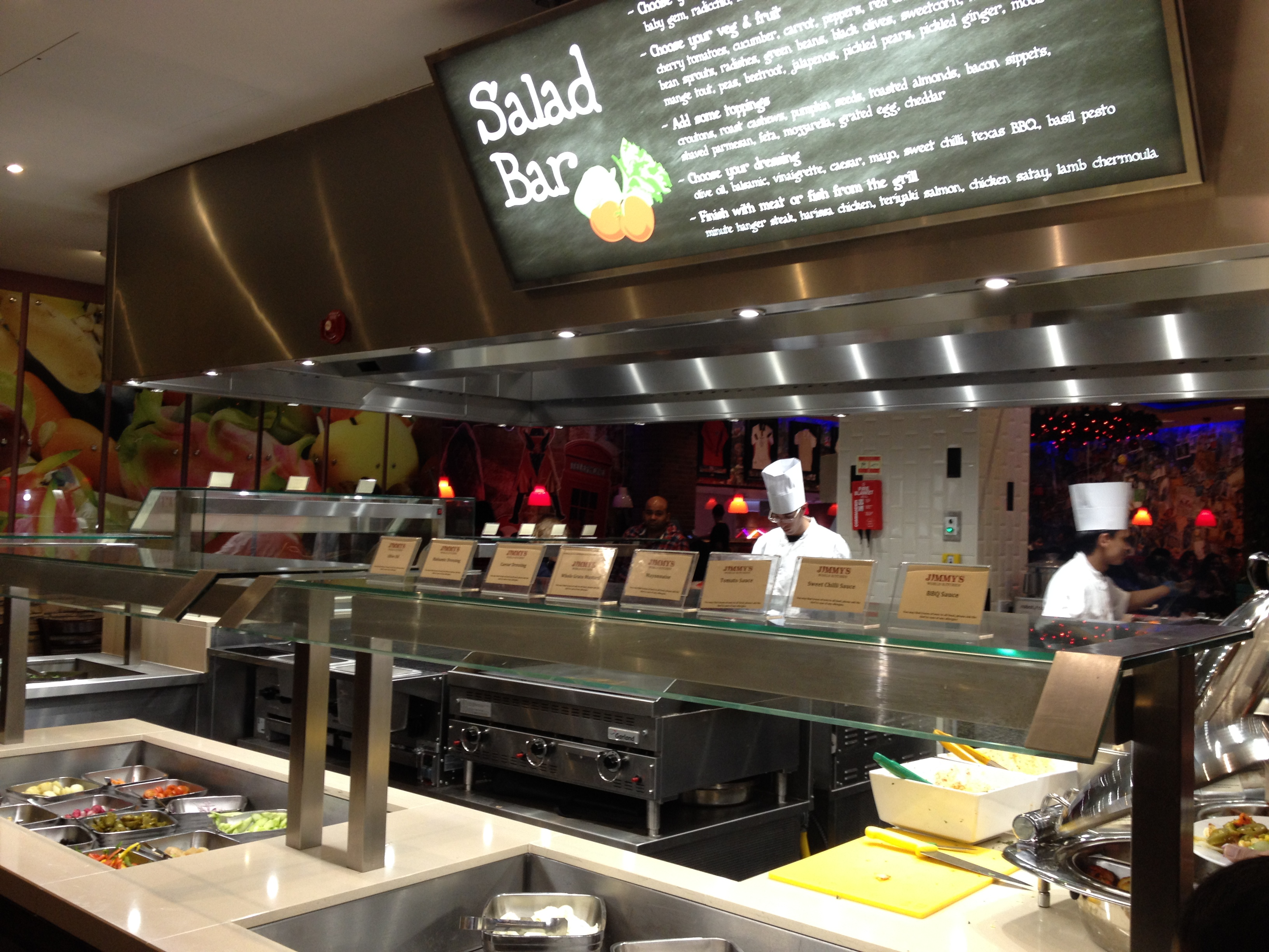 Jimmy's World Grill & Bar Restaurant Review, Wembley ...