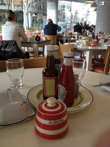 Albion Table Setting