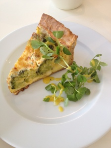 Cheese & Broccoli Tart