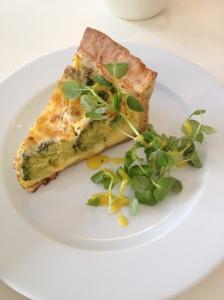Cheese & Broccoli Tart