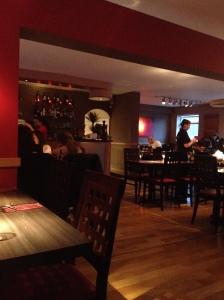 Inside Va Pensiero Radlett Restaurant