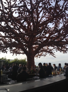 Sushi Samba Outdoor Tree