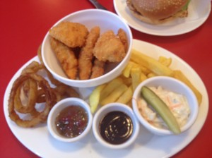 Ed's Plate Chicken Dippers