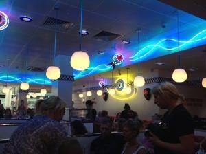 Inside Ed's Easy Diner