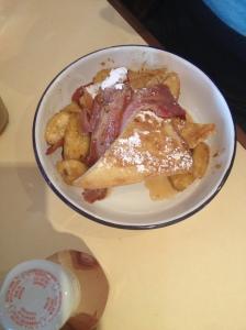 Bacon & Banana French Toast