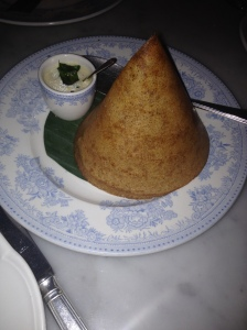 Chettinad Duck Dosa
