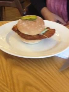 Goosnargh Chicken Burger