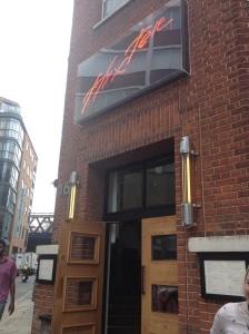 Hixter Bankside Restaurant