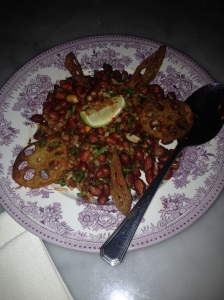 Masala Peanut & Lotus Root Chat
