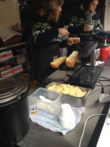 Raclette Stall