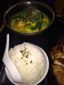 Yellow Prawn & Cucumber Curry
