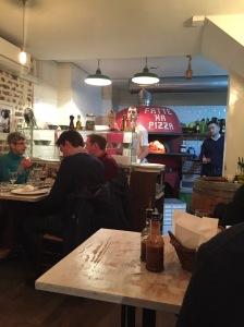 Inside L'Antica Pizzeria