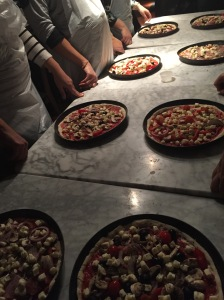 Pizza Ready for Oven