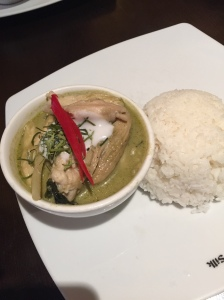 Traditional Green Curry with Chicken