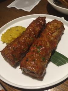 Gilafi Duck Seekh Kebab